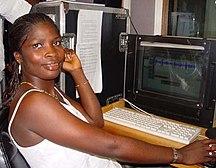 Sierra Leone-Media-Isata Mahoi radio editor and actress