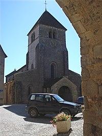 Issy-l'Évêque (Saône-et-Loire),l'église.JPG