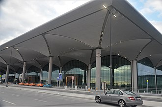 Istanbul Airport - Terminal building of Istanbul Airport.
