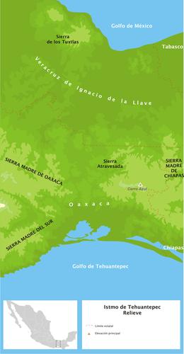 Sierra Madre De Oaxaca Wikipedia