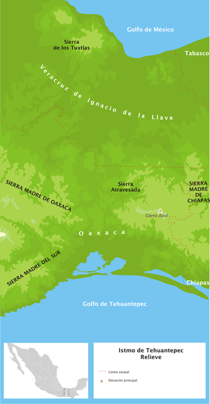 Gulf of Tehuantepec - The Gulf of Tehuantepec is located on the Pacific coast of southern Mexico
