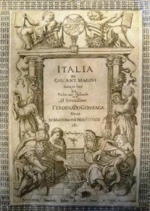 Giovanni Antonio Magini - Magini's atlas.