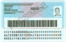 Carta d 39 identit elettronica italiana wikipedia for Controllare il permesso di soggiorno