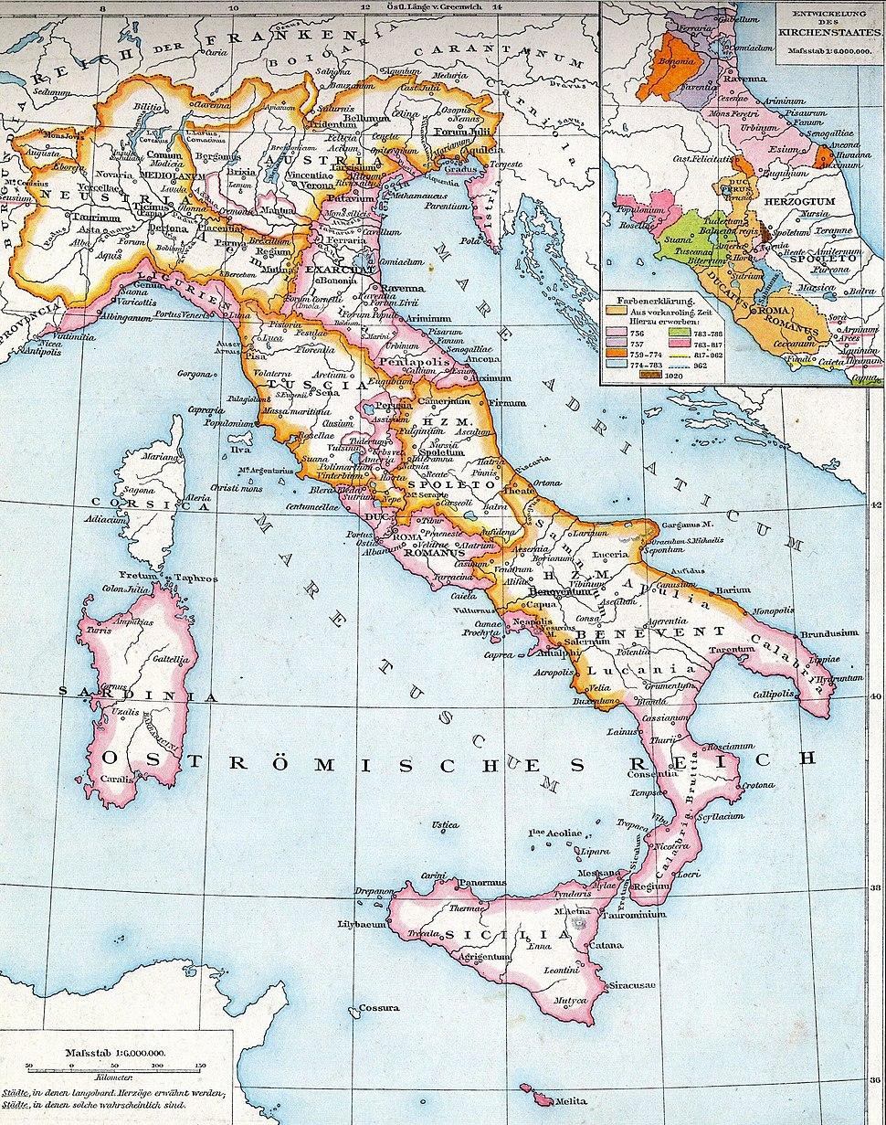 Italien zur Langobardenzeit