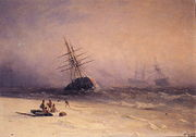 Ivan Constantinovich Aivazovsky - Shipwreck in the North Sea.jpg