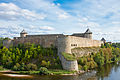 Ivangorod fortress as seen from Hermann Castle.jpg