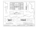 Ivy Hall, 1225 River Road, Piscataway, Middlesex County, NJ HABS NJ,12-NEBRU.V,3- (sheet 13 of 22).png