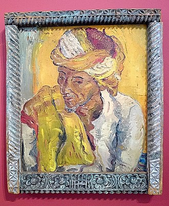Irma Stern - Image: Iziko sang The golden shawl