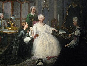 J. Mioduszewski. Catherine II receiving the letter detail.jpg