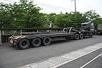 JGSDF Type 73 Extra Large Semi-trailer Truck(50-2229 & 62-2218) right rear view at JMSDF Maizuru Naval Base May 18, 2019 02.jpg