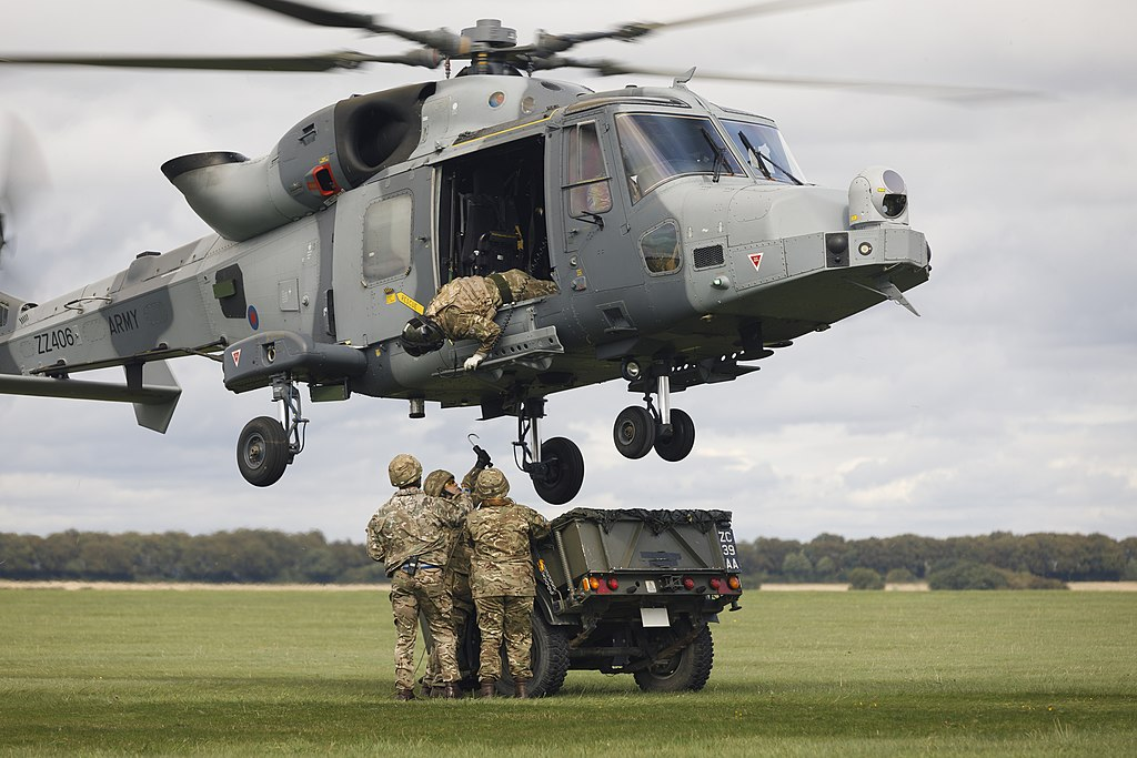 JHC Army Wildcat and troops.jpg