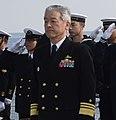 JMSDF Vice Admiral Tetsuro Doshita 堂下哲郎海将 (US Navy photo 160311-N-FN963-126 Remembrance ceremony).jpg