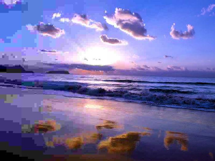 Солнце облака природа море загрузить