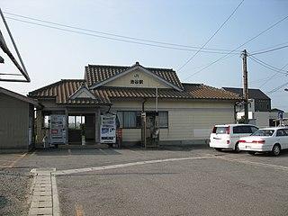 Ikenotani Station Railway station in Naruto, Tokushima Prefecture, Japan