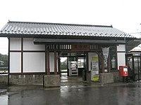 JR East Ryomo line Iwafune Station.jpg