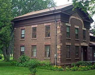 Jackson Blood Cobblestone House United States historic place