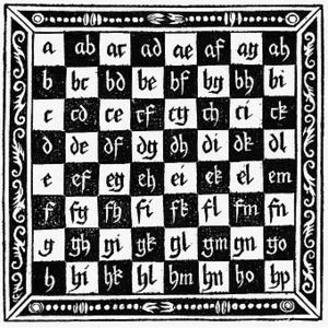 Algebraic notation (chess) - Image: Jacob Köbel 1520
