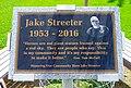 Jake Streeter Plaque in Dayville, Oregon Park (37146455603).jpg