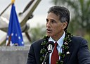 James Aiona, Lt. Governor of Hawaii, speaks to survivors.jpg