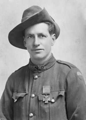 48th Battalion (Australia) - Private James Woods, who received the Victoria Cross for his actions in September 1918.