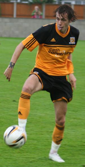 Jamie Devitt - Devitt playing for Hull City in 2012