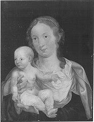 Maria mit dem Kinde (Kopie nach)