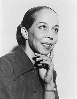 Janet Collins American dancer