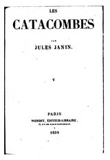 Janin - Les catacombes, tome 5.djvu