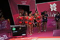 Japan Rhythmic gymnastics at the 2012 Summer Olympics (7915184664).jpg