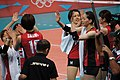 Japan women's national volleyball team at the 2012 Summer Olympics (7913989448).jpg