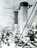Japanese cruiser Asama deck