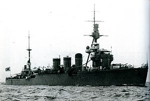Japanese cruiser Kitakami in 1935.jpg