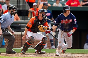 Jason Kipnis - Kipnis in a game against the Baltimore Orioles