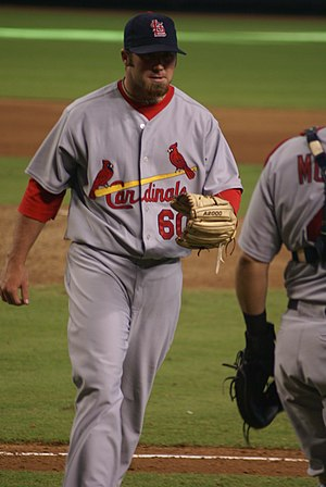 Jason Motte - Motte in 2008 with the Cardinals