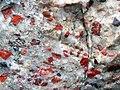 Jasper-quartz pebble conglomerate (Lorrain Formation, Paleoproterozoic, ~2.3 Ga; Ottertail Lake Northeast roadcut, near Bruce Mines, Ontario, Canada) 18 (47709286231).jpg