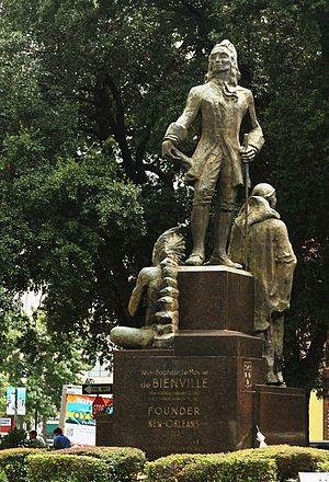 Angela Gregory - Jean-Baptiste Le Moyne de Bienville monument