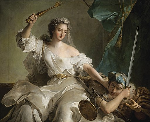 Jean-Marc Nattier - Allegory of Justice Punishing Injustice, 1737