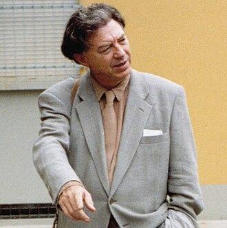 Jean-Michel Folon - Jean-Michel Folon in 1990