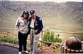 Jenna and Joe Ware at Metior Crater with Tripod.jpg