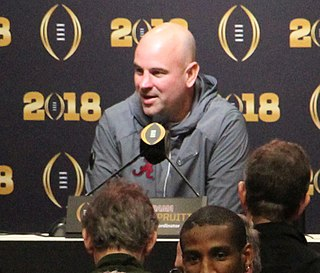 Jeremy Pruitt American football coach