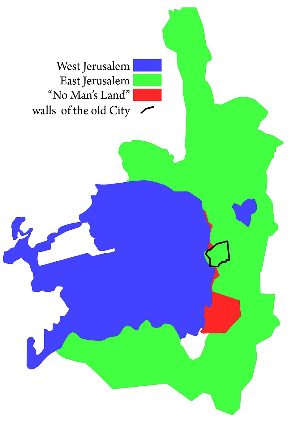 JerusalemEastAndWest
