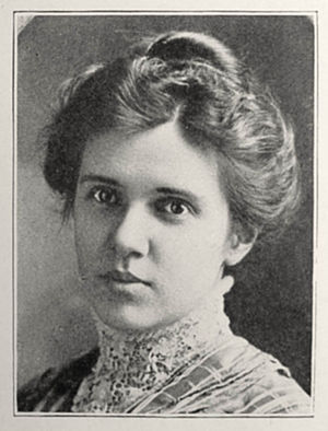 Jessie Taft - Jessie Taft at age 26 in 1908.