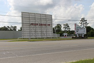 Wayne County, Georgia - Image: Jesup Drive In along US301