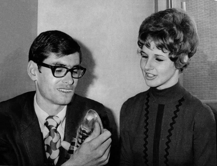 Jim Ryun with wife 1971