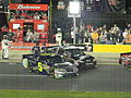 Jimmie Johnson drives onto the grid.jpg