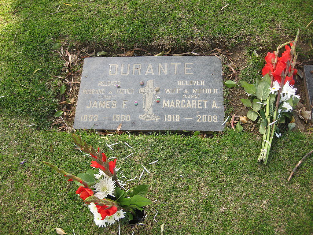 Lucy And Desi Arnaz File Jimmy Amp Margaret Durante S Grave Jpg Wikimedia Commons