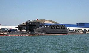 Ballistic missile submarine -  A Chinese Navy Type 094 submarine