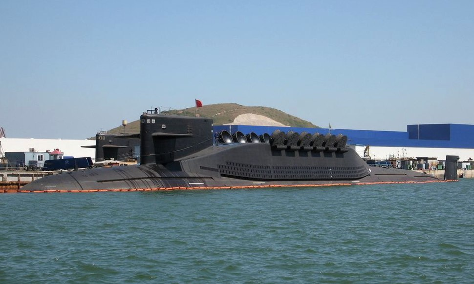 Jin (Type 094) Class Ballistic Missile Submarine
