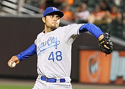 Joakim Soria on May 24, 2011 (2).jpg