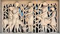 Joan Rebull, sculpture, stone, approximately 170 x 300 cm, Passeig de Sant Joan 102, Barcelona DSC09587..jpg